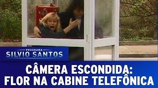 Câmera Escondida (05/06/16) - Flor na cabine telefônica