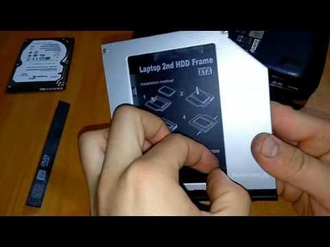 Адаптер подключения Grand-X HDD 2.5'' в отсек привода ноутбука SATA/mSATA (HDC-25)