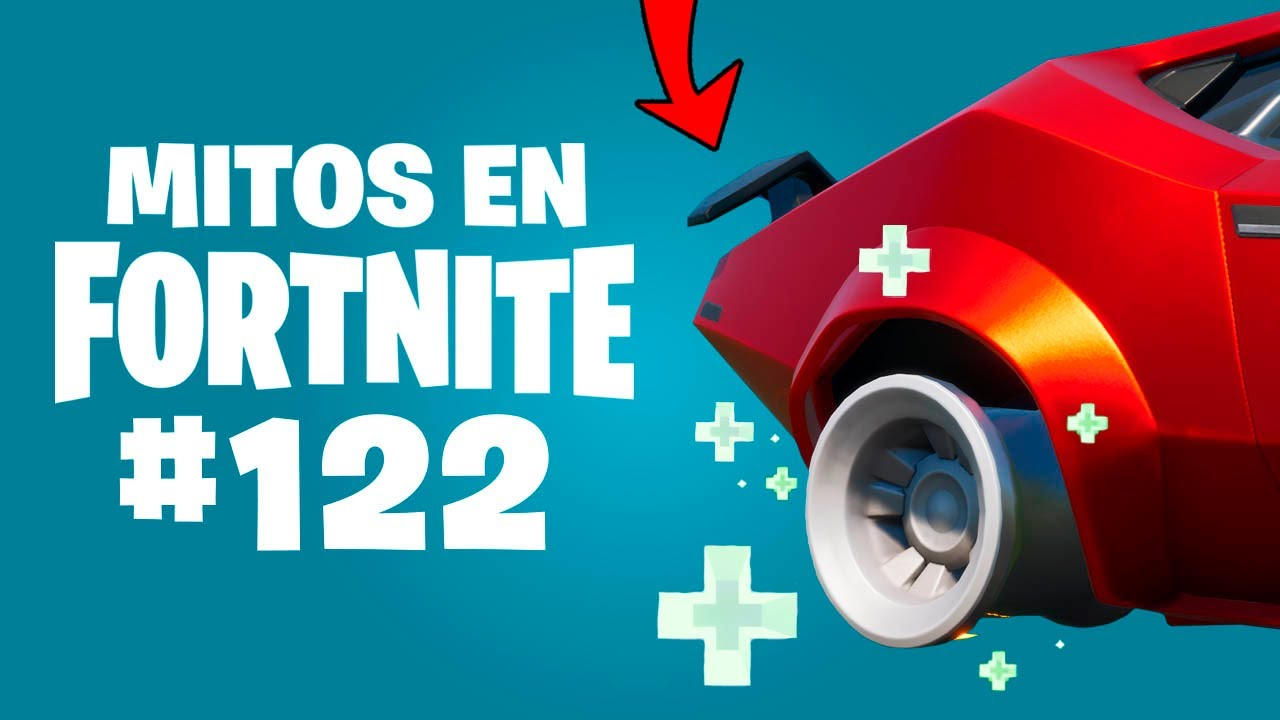 ¿REPARACIÓN DE NEUMÁTICOS? - Mitos Fortnite - Episodio 122