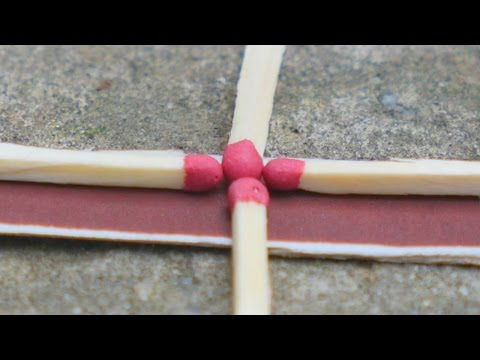 Thumbnail: 3 life hacks with matches