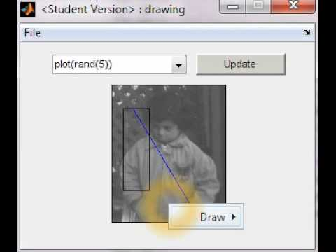 MATLAB GUI: interactive drawing [advanced]