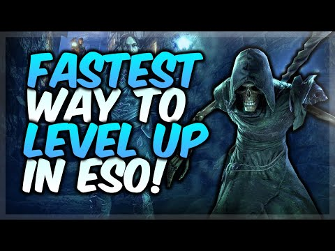 FASTEST WAY TO LEVEL UP IN ESO! | NEW LIFE FESTIVAL (Elder
