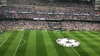 Real Madrid v Bayern Munich - Hala Madrid and UCL Anthem 4/18/17