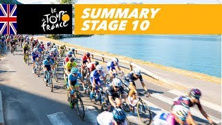 Summary - Stage 10 - Tour de France 2018