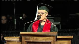 Commencement 2014 — Student Speaker Janine Henry Thumbnail