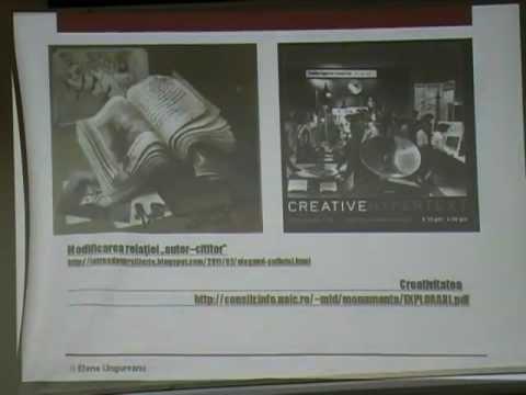 Hypertext - metafora limbajului Elena Ungureanu