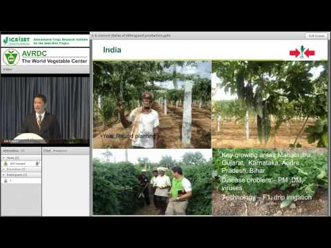 Current status of bitter gourd production and marketing in Asia