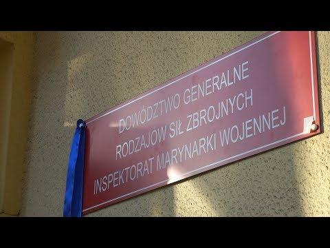 70a0c1f7eb931 Inspektorat Marynarki Wojennej z powrotem w Gdyni - YouTube