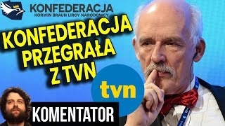 Konfederacja Przegrała w Sądzie z TVN Mimo Że Mieli Rację - Analiza Komentator Pieniądze Telewizja