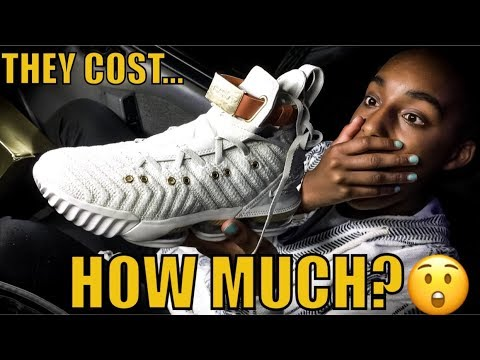 Lebron 16 HFR Limited Sneaker Unboxing and Review (Kicks in Whips)