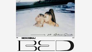 Nicki Minaj - BED Ft. Ariana Grande (Official Audio)