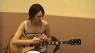 リア・ディゾンleahdizonギターに挑戦「Real G-ZONE」2 http://www.leah...