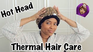 Thermal Hair Care HOT HEAD 🙆🏽‍♀️ (Quick Review) | CurlyNiqueNique