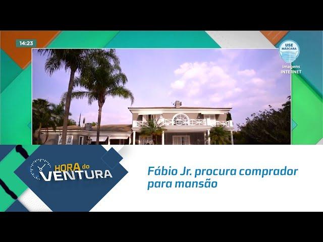Fábio Jr. procura comprador para mansão avaliada em R$ 8,5 milhões