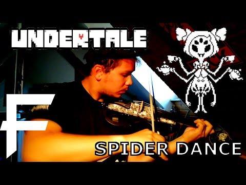 Spider Dance - Undertale [Visual Dubstep + Solo Guitar Remix] || MetalFortress