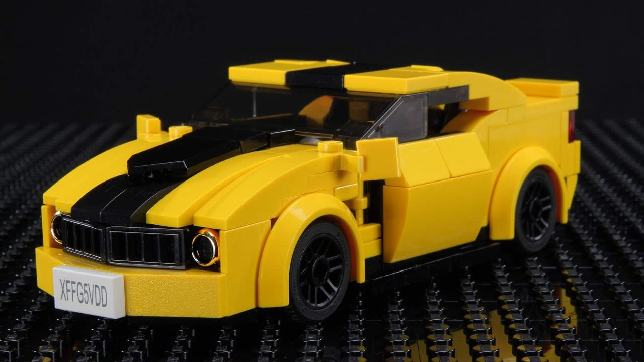 Lego Chevrolet Camaro Moc Youtube