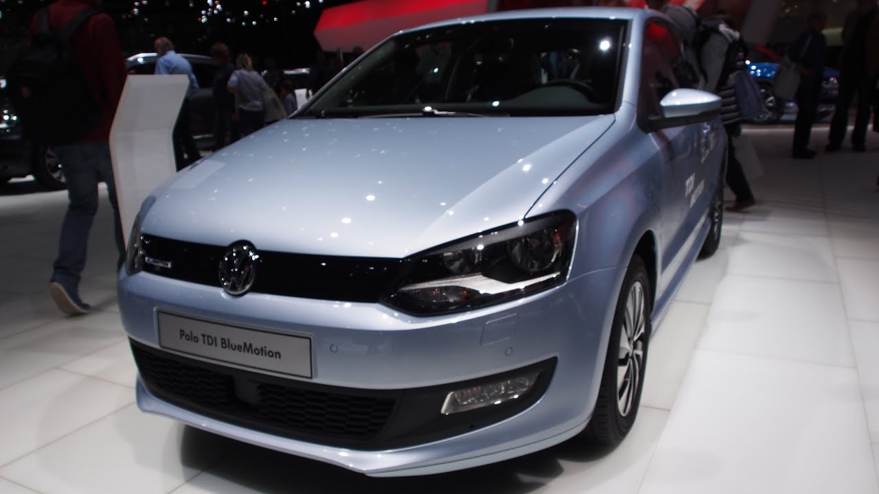 2014 volkswagen polo 1.2 tdi bluemotion - exterior and interior