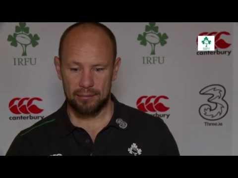 Irish Rugby TV: Greg Feek On The Irish Scrum