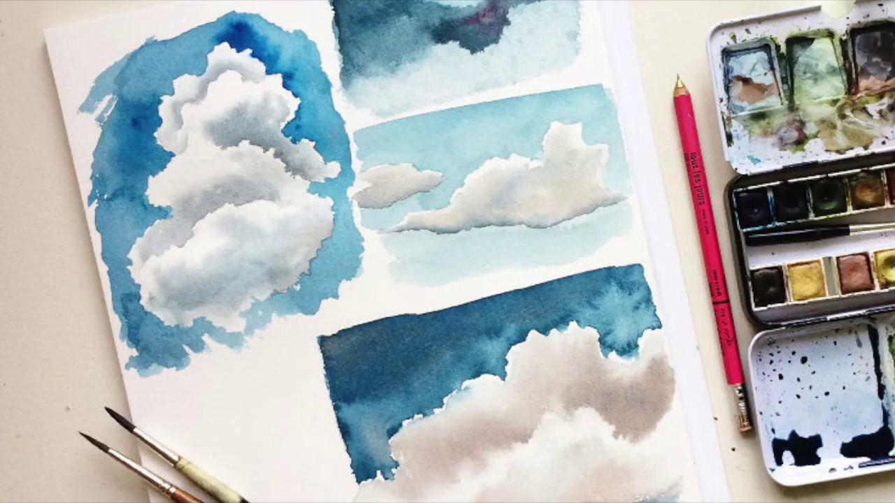 Wolken Malen