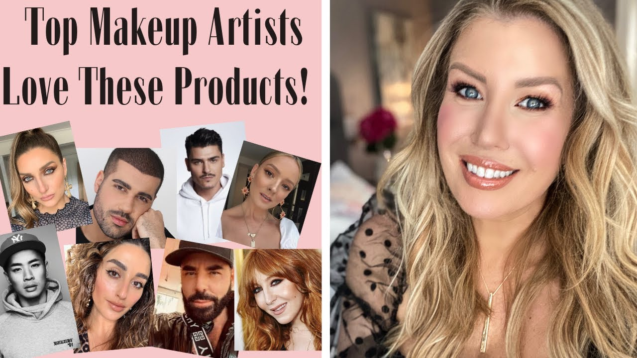 FULL FACE TUTORIAL USING CELEBRITY MAKEUP ARTISTS FAVORITE PRODUCTS