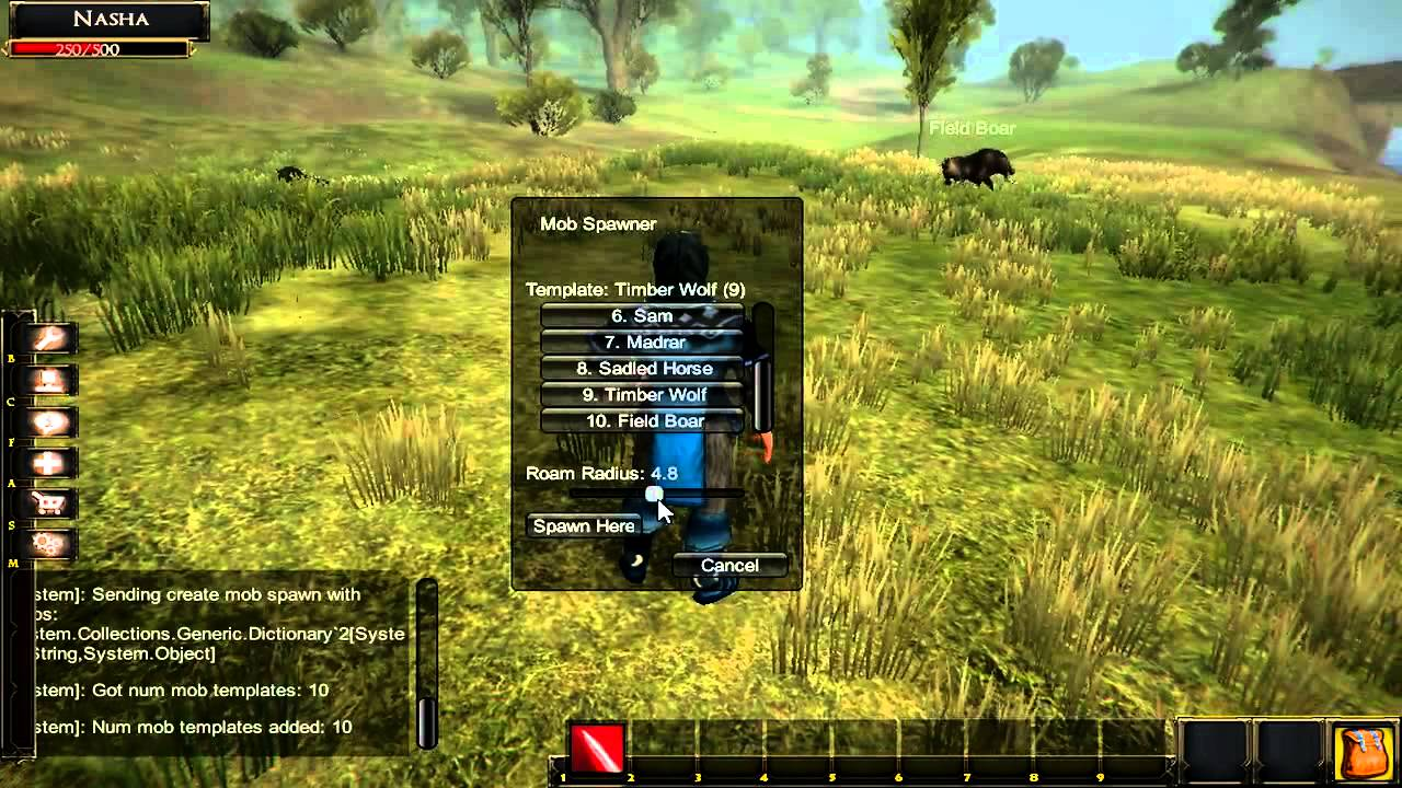 Unity 3D MMORPG Kit Test 1