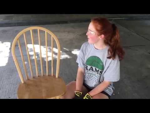 Wooden Chair Makeover DIY