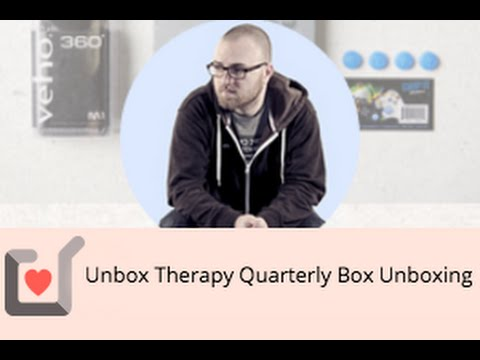 Unbox Therapy Quarterly Box Unboxing