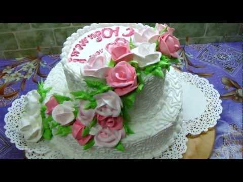 торт ювілейний 60