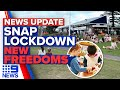 Three NSW LGA's sent into lockdown, new 'friends bubble' introduced in NSW | 9 News Australia