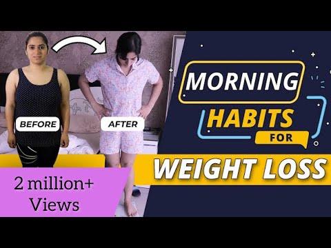My 7 Morning Habits for Weight Loss   By GunjanShouts