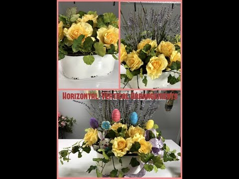 Tricia's Creations: Basic Floral Design Part 2: Horizontal/V