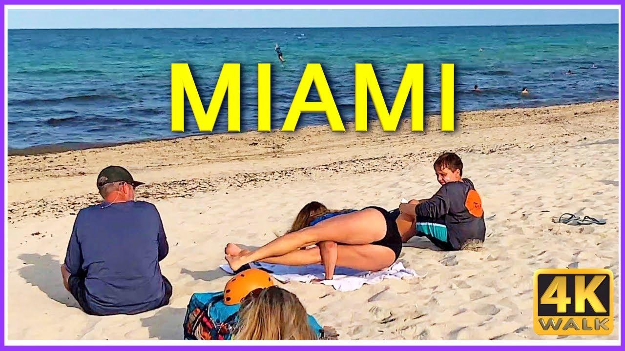 Download 4K WALK Miami BEACH 4k video WALKING TOUR travel channel HDR