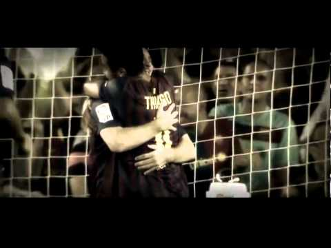|HD|XAVI, MESSI, INIESTA...| FC BARCELONA |TURKISH AIRLINES ADVERTISING|