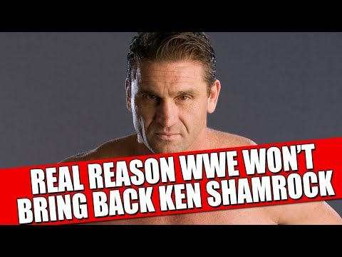 The Real Reason Why WWE Won't or doesn't want to Bring Back  Ken Shamrock!