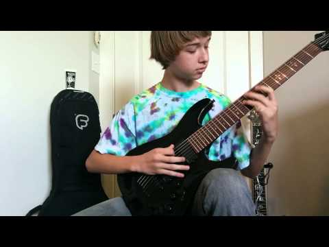 Periphery - All New Materials Guitar Cover (Backing Track + Tabs)