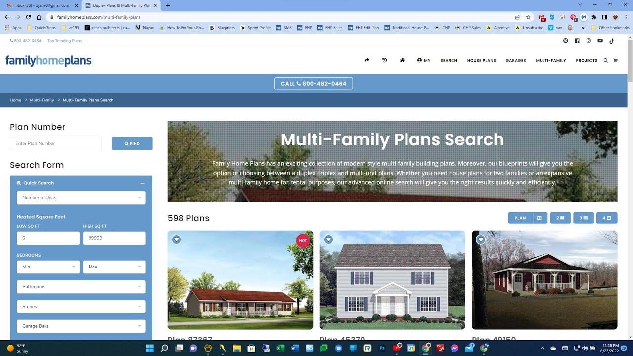 Duplex House Plans | Find Your Duplex House Plans Today on