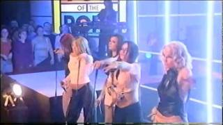 Girls Aloud - Sound Of The Underground (TOTP Christmas Special 2002)