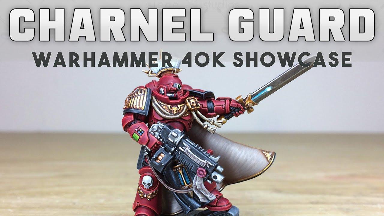 PAINTING SHOWCASE: Primaris Captain Charnel Guard Warhammer 40k