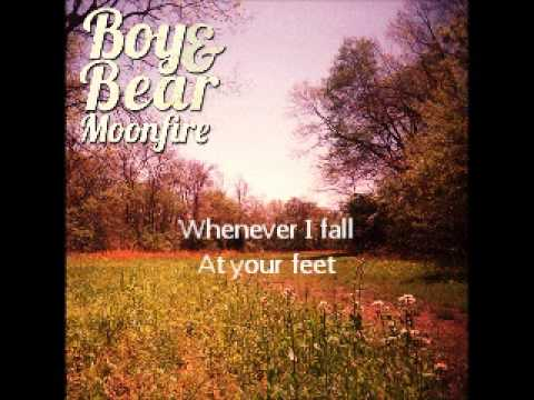Boy and Bear - Fall At Your Feet Lyrics