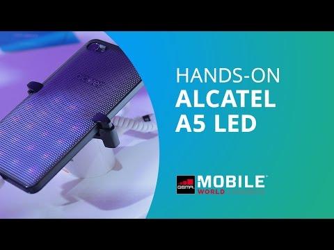 Alcatel A5 LED, o telefone que pisca MWC 2017