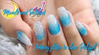 Adding Glitter to Polygel