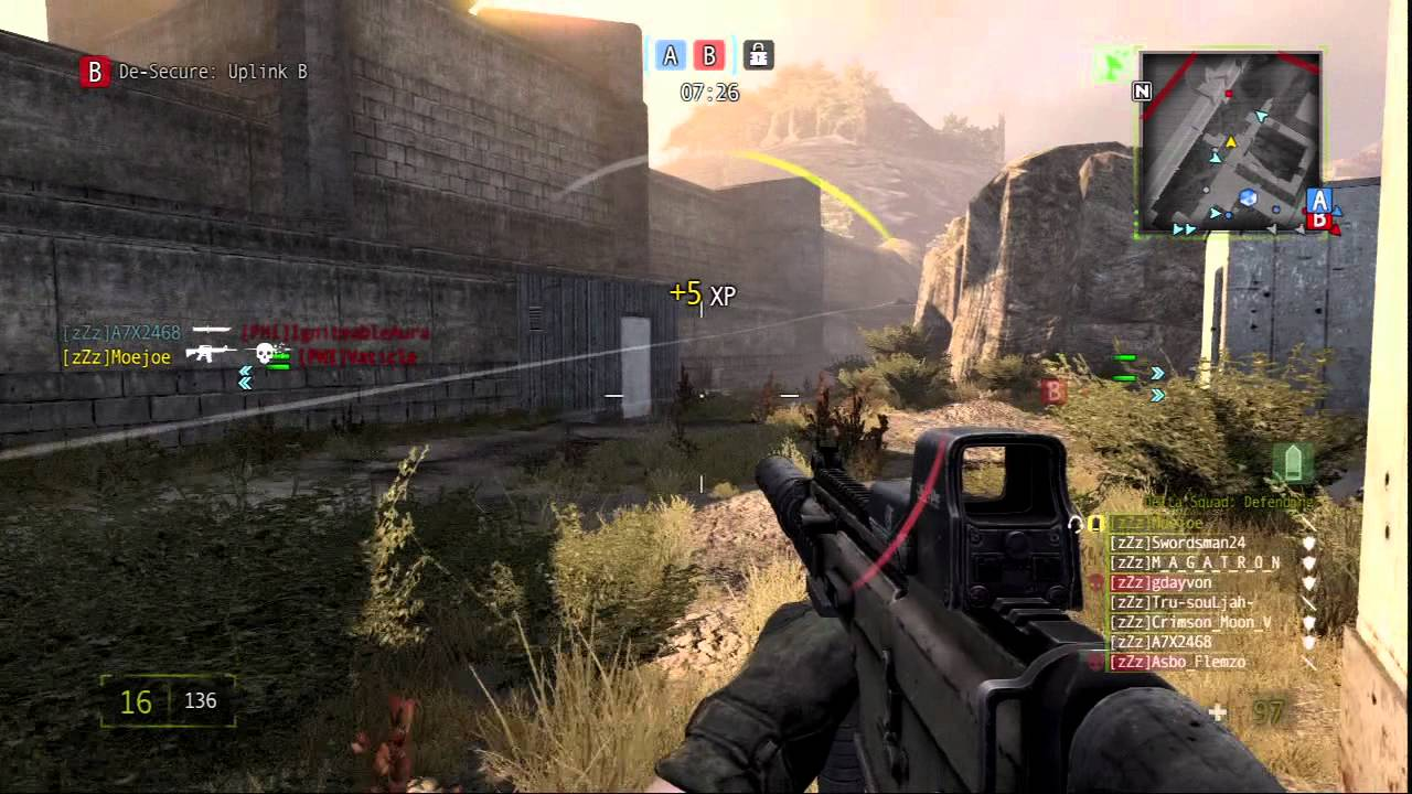 mag ps3 zzz vs phi clan scrimmage game 1 youtube
