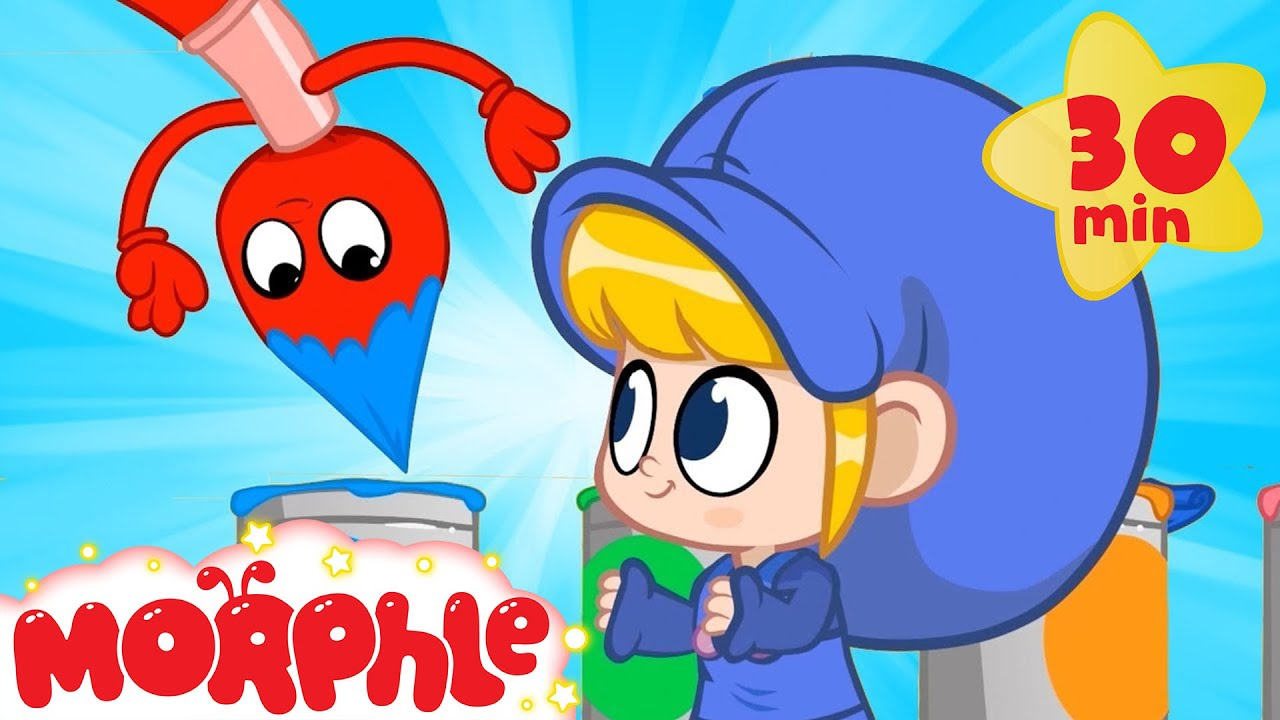 Magic Colors! Learning With Morphle - My Magic Pet Morphle | Cartoons For Kids | Morphle