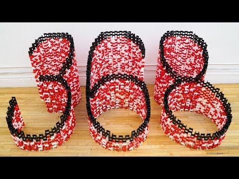 Building 6,500 Dominoes At 368! (ft. Casey Neistat)