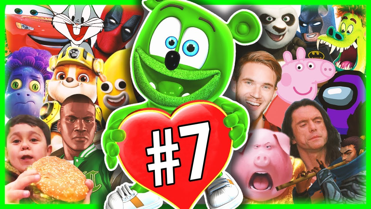 Gummy Bear Song (Movies, Games, Series and Memes COVER) PART 7