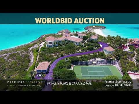 Premiere Estates Worldbid Auction:  Prince Estate Turks & Caicos