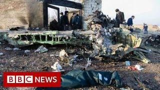 Ukrainian passenger plane crashes in Iran - BBC News