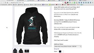 How I Earned $18000 On Teespring - | With Facebook Ads | NO DROPSHIPPING Shopify thumbnail