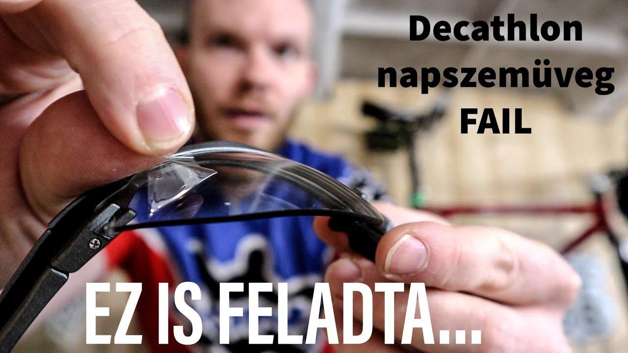 Sajnos ez is feladta...Btwin/Rockrider fotokromatikus napszemüveg típushiba
