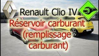 Renault Clio IV | Réservoir carburant